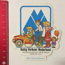 Aufkleber/Sticker: Veilig Verkeer Nederland (02061661)