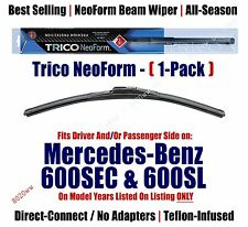 Super Premium NeoForm Wiper Blade (Qty 1) fits 1993 Mercedes-Benz 600SL - 16240