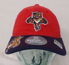 Florida Panthers Team Colors Men's Reebok Mesh Curved Hat (A)