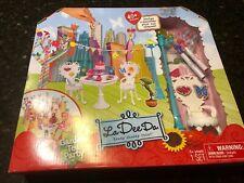 Garden Tea Party La Dee Da Doll Playset Heart Table Chairs 40+ Pcs Stickers Nip