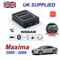 For Nissan Maxima Music Streaming Bluetooth Telephone Charger SD AUX CD Module