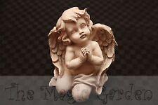 Praying Cherub Angel Cement Concrete Plaster Latex Moulds Molds Garden Ornament
