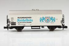 Fleischmann N Vagón Frigorífico Kulmbacher Reichelbraeu Suciedad/Arañazo -