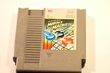 Nintendo NES MARBLE MADNESS  NES-MV-UKV PAL  BY MB GAMES  1988 (GAME ONLY)