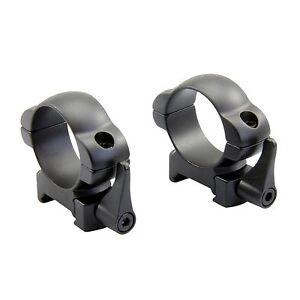 30mm Mid Profile Quick Release Scope Steel Rings Picatinny Weaver Rail SR-32