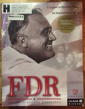 FDR: A Legend In His Time, An Inspiration in Ours (UNOPENED CD-ROM, 1996)