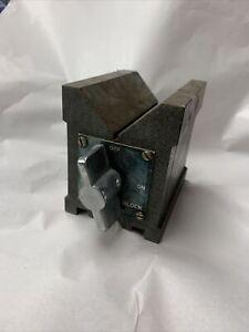 "Groz Magnetic Vee Block 4"" Work Block"