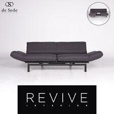 de Sede ds 140 Designer Stoff Grau Zweisitzer Couch Funktion #8898