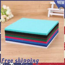 40pcs Colorful Non-Woven Cloth Diy Kid Sewing Crafts Felt Fabric Home Decor