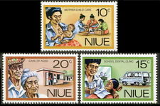 Niue: 1977 Social Services MNH Set of 3 (#196-98)