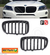 BMW X3 F25  2010 - 2013 KIDNEY GRILLE  - PRE FACE LIFT - ABS - MATTE BLACK