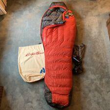 Eddie Bauer First Ascent Karakoram 850 Down 0° Long Mummy Sleeping Bag NWT