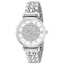 Emporio Armani AR1925 Gianni T-bar Stainless Steel Silver Ladies Watch Gift