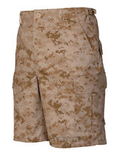 BDU Cargo Shorts - Military Camo Desert Digital by TRU SPEC 4229