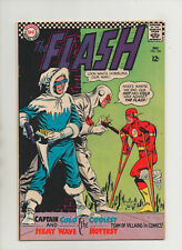Flash #166 - Captain Cold & Heat Wave Team-Up - (Grade 7.5) 1966