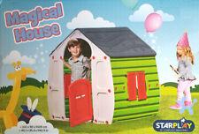 Kinder Spielhaus Magical House 90 x 109 x 102 cm - Weiß / Grün / Rot / Grau