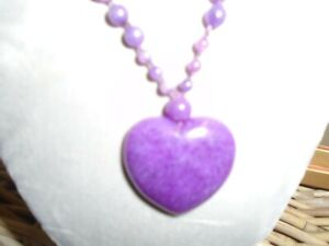 Lola Rose Purple Heart Agate Necklace - New