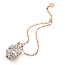 Heart Rose Gold Costume Necklaces & Pendants