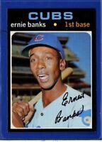 1971 Topps Set Break #525 Ernie Banks NM-MT OR BETTER *GMCARDS*