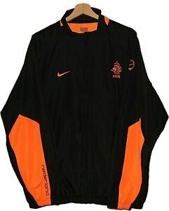 NETHERLAND Football TRACK SUIT JACKET Jersey Tricot NIKE size L