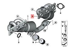 Genuine BMW E90 E91 E92 E93 Exch. Exhaust Manifold With Catalyst 18407568614