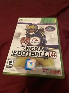 NCAA Football 14 - Xbox 360 Game - Tested W/ Pamphlets