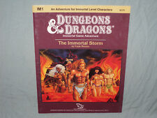 D&D 1st Edition Module -  IM1 THE IMMORTAL STORM  (VERY RARE and UNUSED - EXC!!)