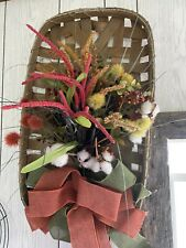 Tobacco basket wreath
