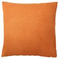 IKEA GULLKLOCKA ORANGE Cushion cover, orange, 50x50 cm