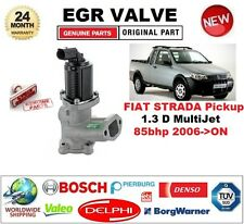 Per FIAT STRADA PICK-UP 1.3 D Multifiamme 85bhp 2006-ON VALVOLA EGR 2 PIN D-Forma Spina