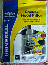UNIVERSAL COOKER HOOD EXTRACTOR GREASE FILTER PAPER NOW DOUBLE SIZE 114cm X 47cm