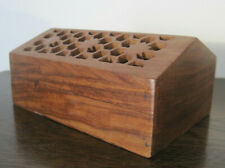 Wooden Jewellery Keepsake Box Carved Wood Box