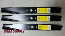 "set of 3 heavy duty Simplicity Snapper Murray 50"" mower blades 1708229 10094"