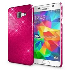 Samsung Galaxy A3 2016 Hülle Handyhülle von NALIA, Glitzer Hard-Case Back-Cover