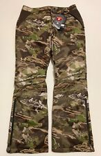 UNDER ARMOUR WOMEN'S SIZE 8 COLDGEAR INFRARED UA EXTREME CAMO HUNT PANTS NWT