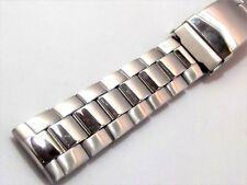 2f53dc60618 bracciale orologi acciaio maglia oyster spesso patent pending ansa 18 mm