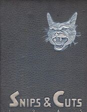 1945 Snips & Cuts - Central High Yearbook - Charotte, NC - ALL NAMES IN LISTING