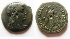 ZURQIEH -as5572- PTOLEMAIC EMPIRE. PTOLEMY VI 180-145 BC. AE27 . WITH ISIS
