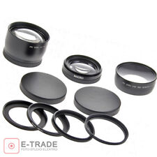 2.2x HD Tele converter + WIDE ANGLE 0.43x //for lenses: 58mm 55mm 52mm 49mm 46mm