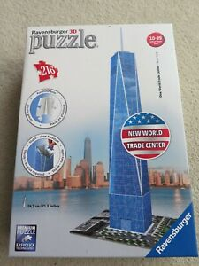 RAVENSBURGER 3D Jigsaw Puzzle One World Trade Centre (216 plastic pieces) 125623