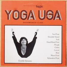 Rare Estelle Simons Yoga USA - With Insert - NM- Vinyl !!!