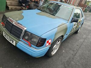 Mercedes-Benz w124 300ce coupe Project Car Auction Must Be See !!