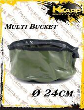secchiello lavamani in pvc K-karp Multi Bucket carpfishing