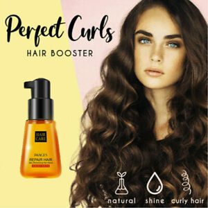 Super Curl Defining Booster Hair Fixing Care Essence 70ml Oil Treatment E2E4