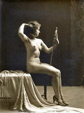 A4 Vintage 1920's Art Deco Pretty Nude Girls ..Victorian/Edwardian Beauties 281