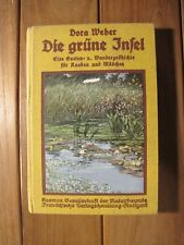 Antik 1919 Ein Sommerbuch Die grüne Insel von Dora Weber K0595