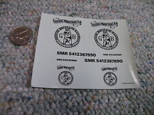 Manufacturer?  decals HO and O Gauge Shining mountains RR    G27
