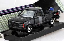 Chevy Chevrolet 454 SS Pick up 1992 schwarz 1:24 Motor Max Modellauto