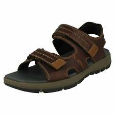 Sandalias y chanclas de hombre marrones Clarks | Compra