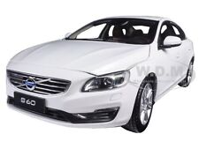 2015 VOLVO S60 CRYSTAL WHITE PEARL 1/18 MODEL CAR BY ULTIMATE DIECAST 88151